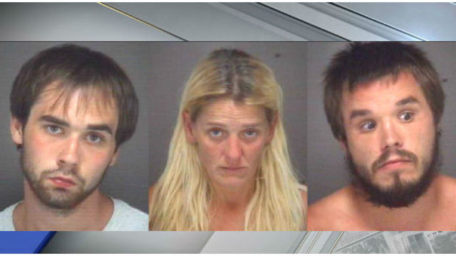 3 busted for 'zombie' drug at NC coast with child on floor of car
