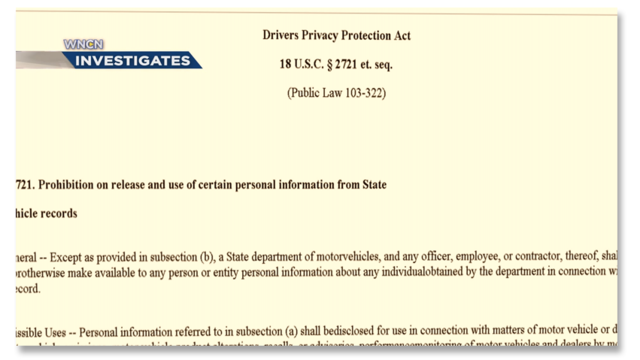 driver privacy act of 2015