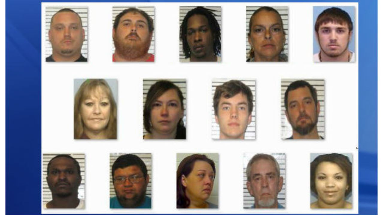 14 arrested as NC coastal drug busts continue, sheriff says - WNCN