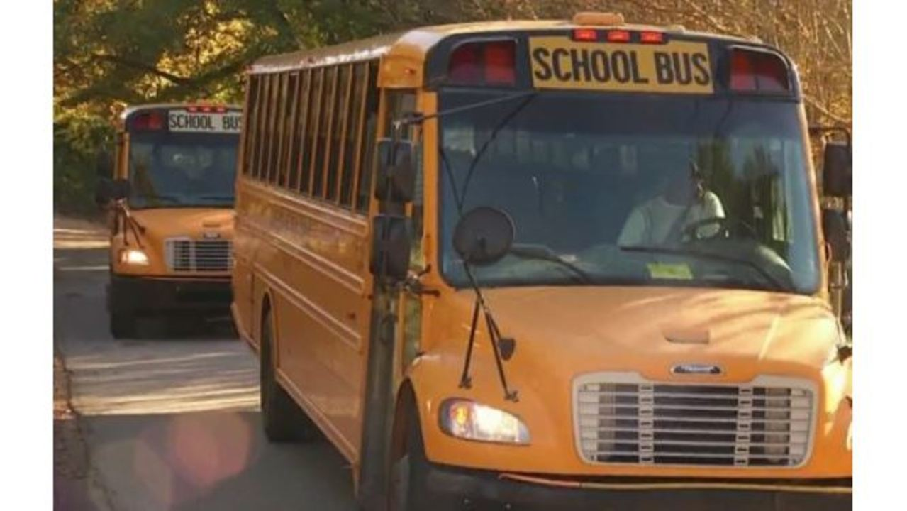 Flipboard: 2 Harnett County school buses involved in crash