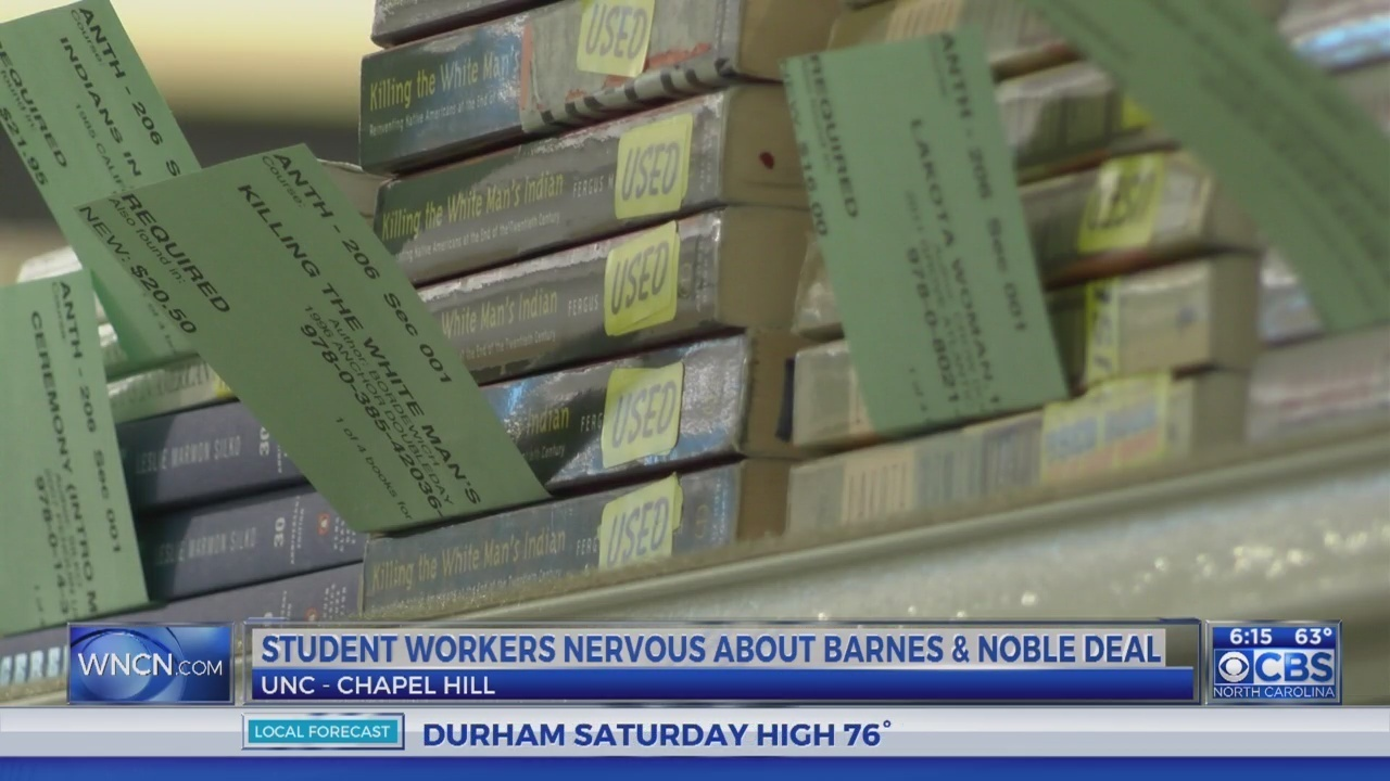 Some Students Worried About Barnes Noble Takeover Of Unc Bookstores