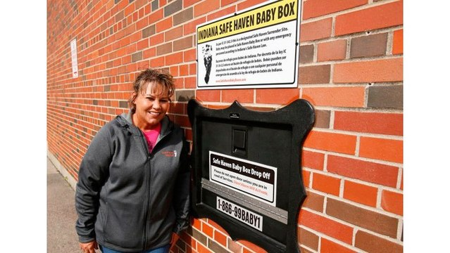 First baby drop-off box for unwanted newborns installed in Indiana