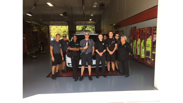 raleigh area olive garden delivered lunch to the holly springs fire department and raleigh police among others this is the 15th consecutive year that - Olive Garden Holly Springs