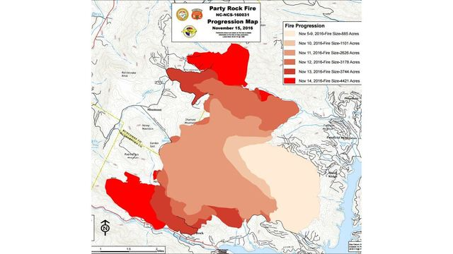 North Carolina Wildfire Map.Nc Wildfires Near 50 000 Acres As Lake Lure Fire Spreads To
