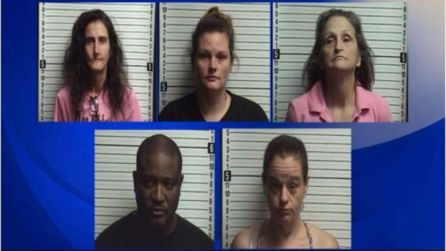 4 women and a man nabbed in drug bust at NC coast