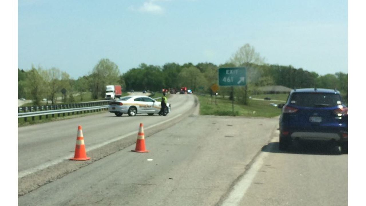 Eastbound US 64 near Nashville reopens after crash