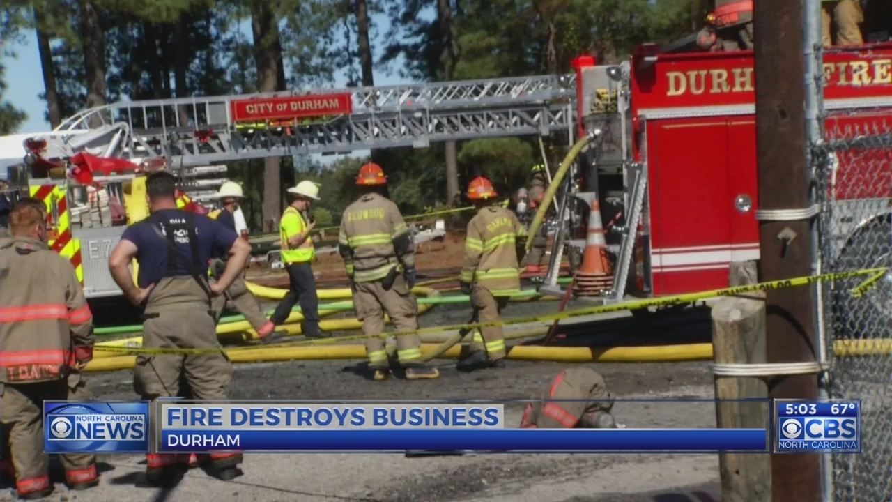 Water World Store In Durham Goes Up In Flames Sustains Heavy Damage