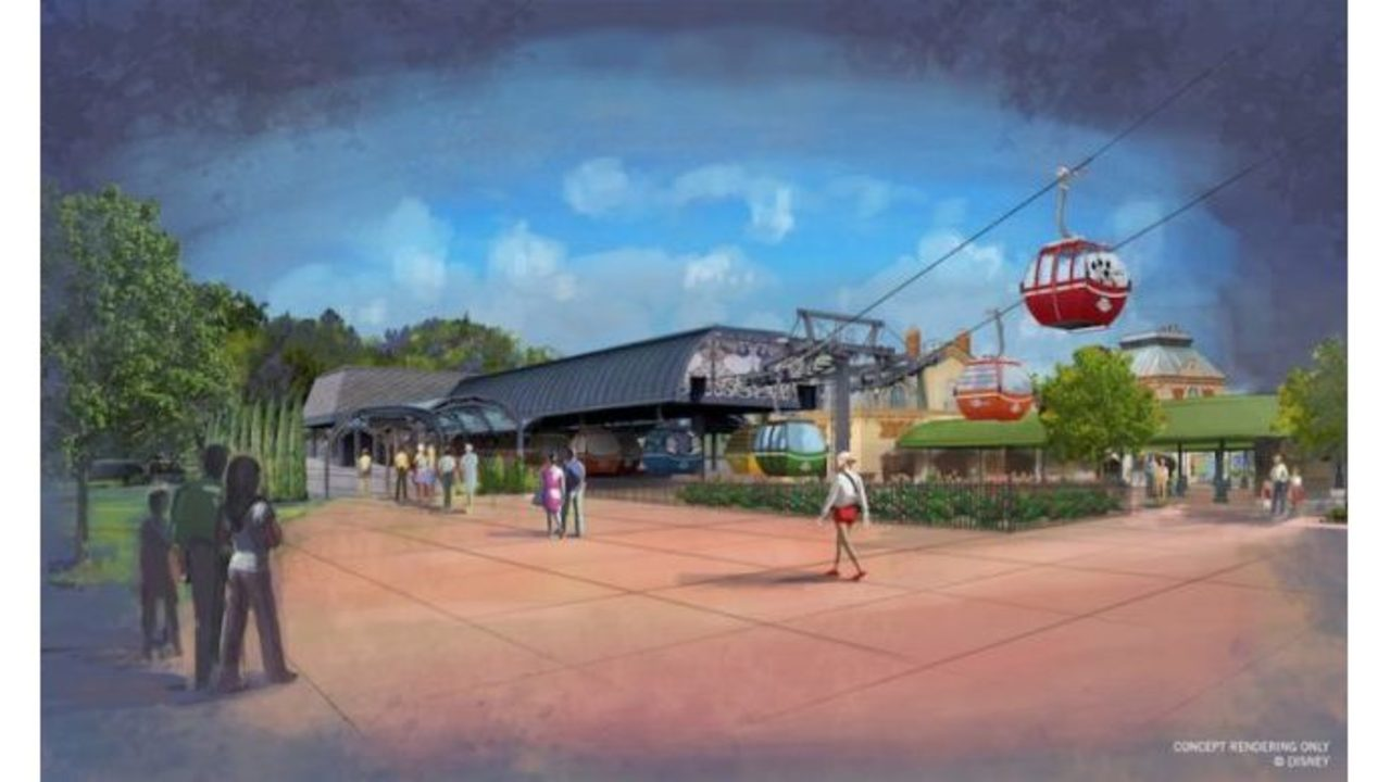Disney releases details on gondolas that will connect parks