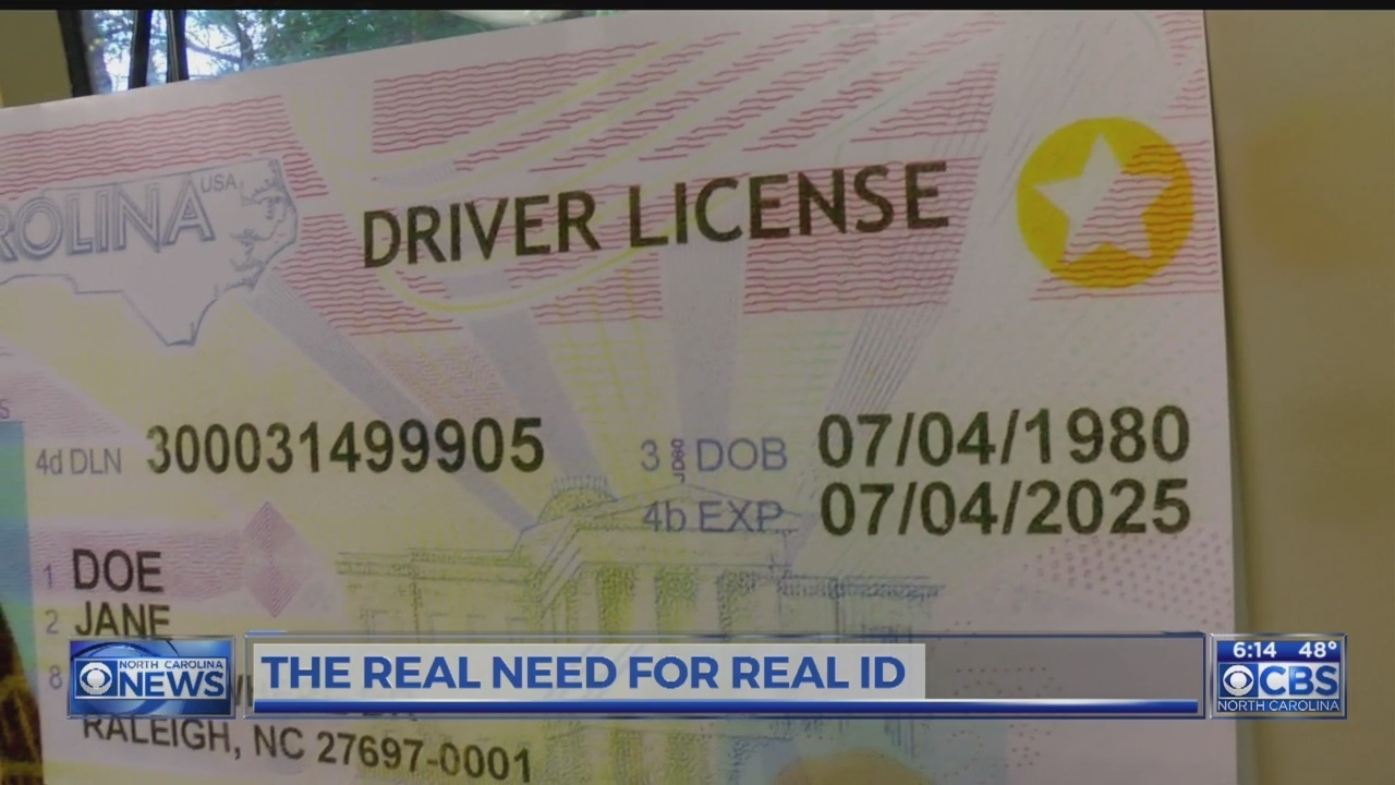 real id requirements nc