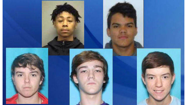 f1c72534103034 3 more teens charged after Fuquay-Varina Walmart shooting in botched ...