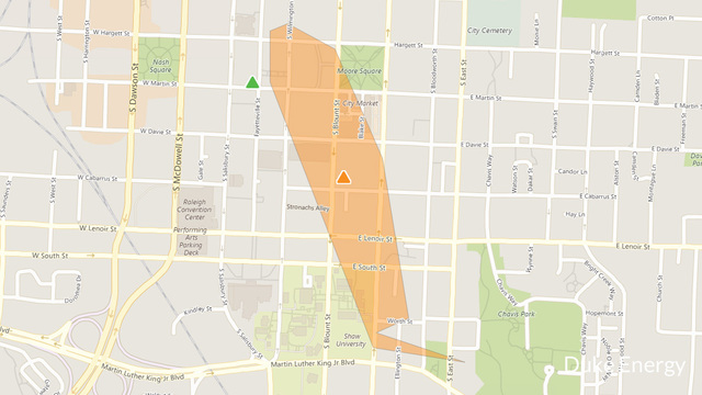 Power out in downtown Raleigh, 750 affected