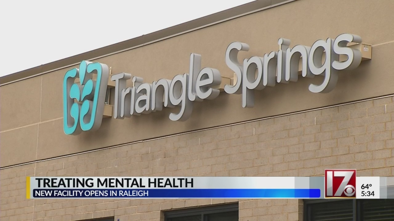 New Raleigh Mental Health Facility To Open Its Doors Tuesday