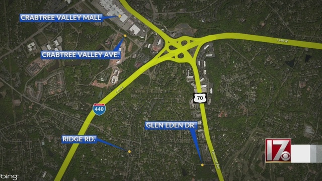 NCDOT Plans For I 440 By Crabtree Valley Mall Met With Opposition