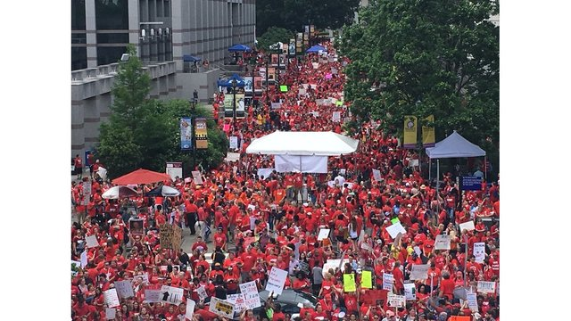Cumberland County joins list of NC school districts closing for May 1 teacher rally