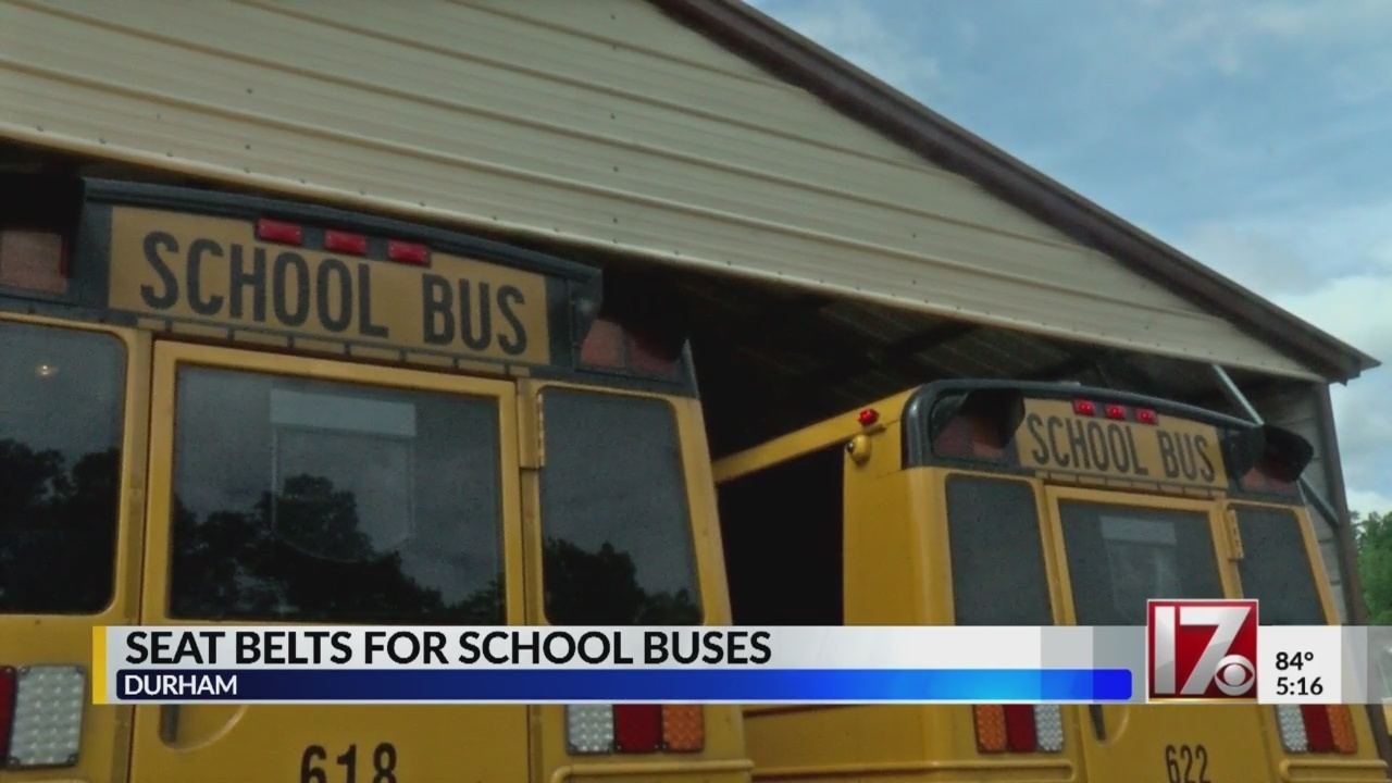 Durham Public Schools Works To Add Seat Belts To All Buses