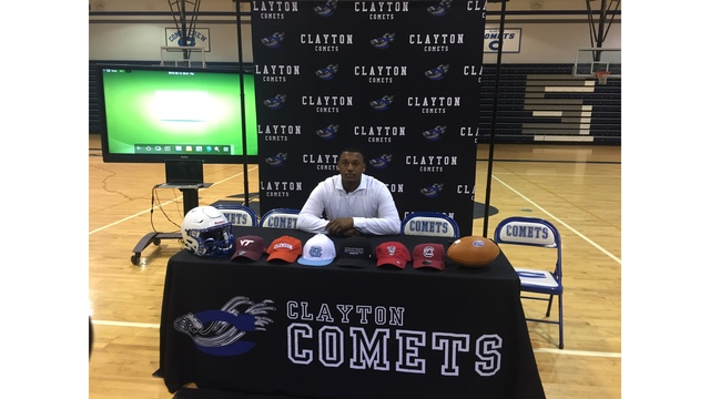 Highly touted Clayton defensive end commits to NC State