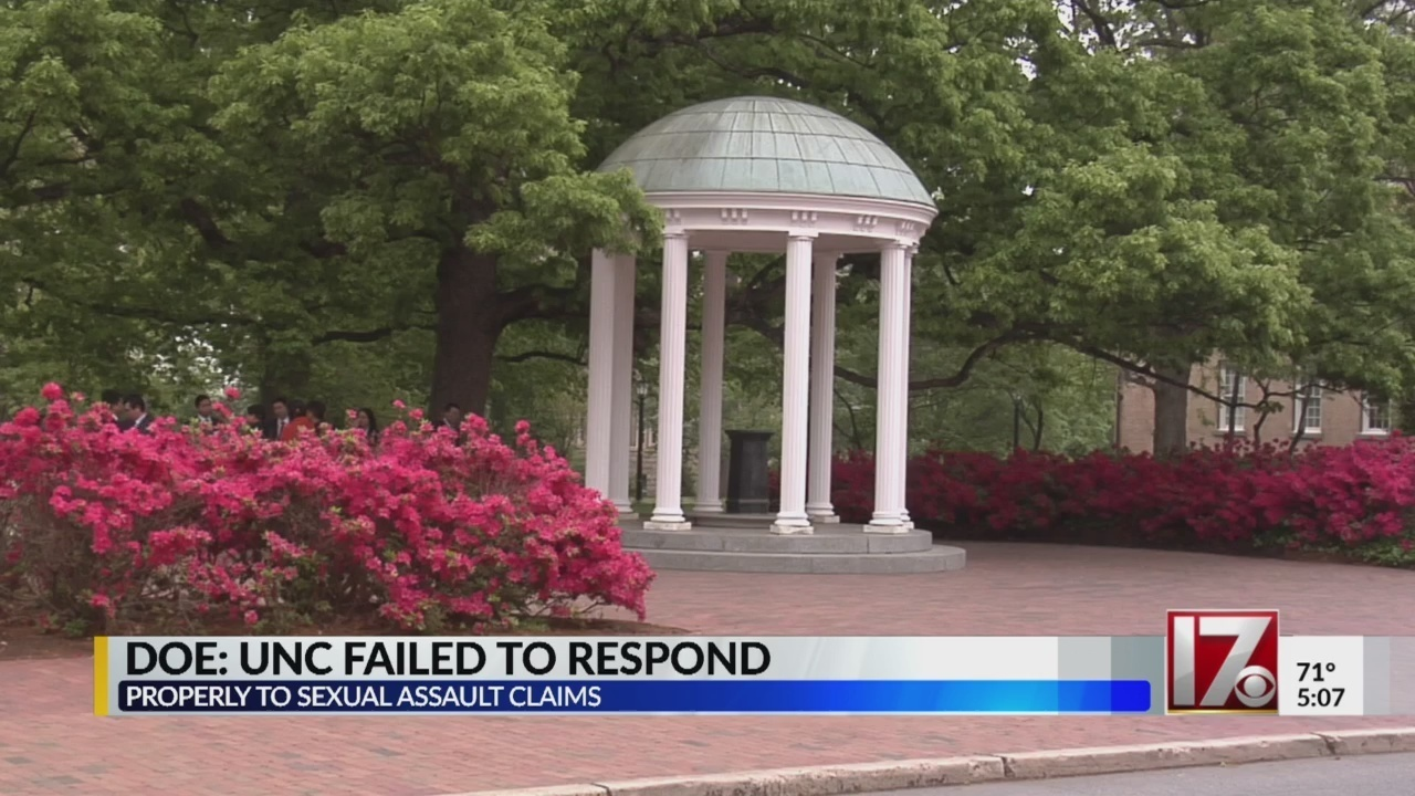 unc chapel hill mishandled sexual assault claims investigation finds