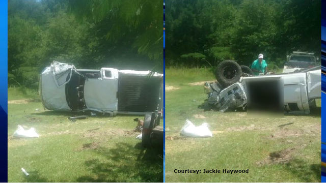 Teen on life support after single-vehicle crash in Harnett County