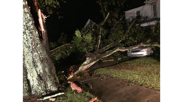 Florence causes road closures across Johnston County