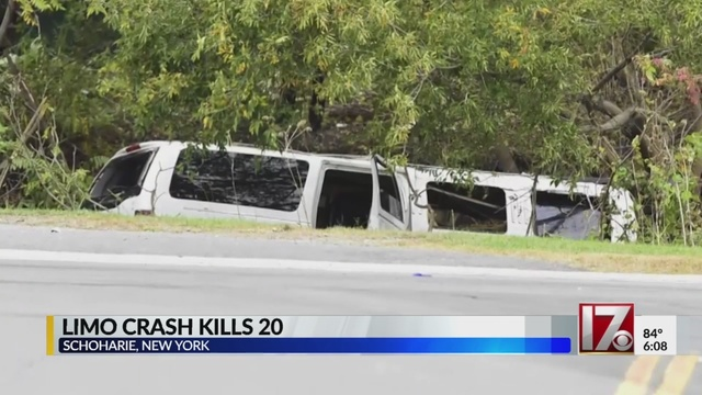 20 Killed In Crash Involving Limo In Schoharie Ny Officials Say