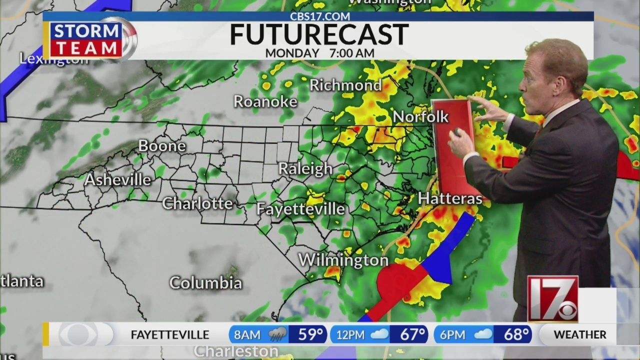 Bill Reh S Monday Weather Forecast