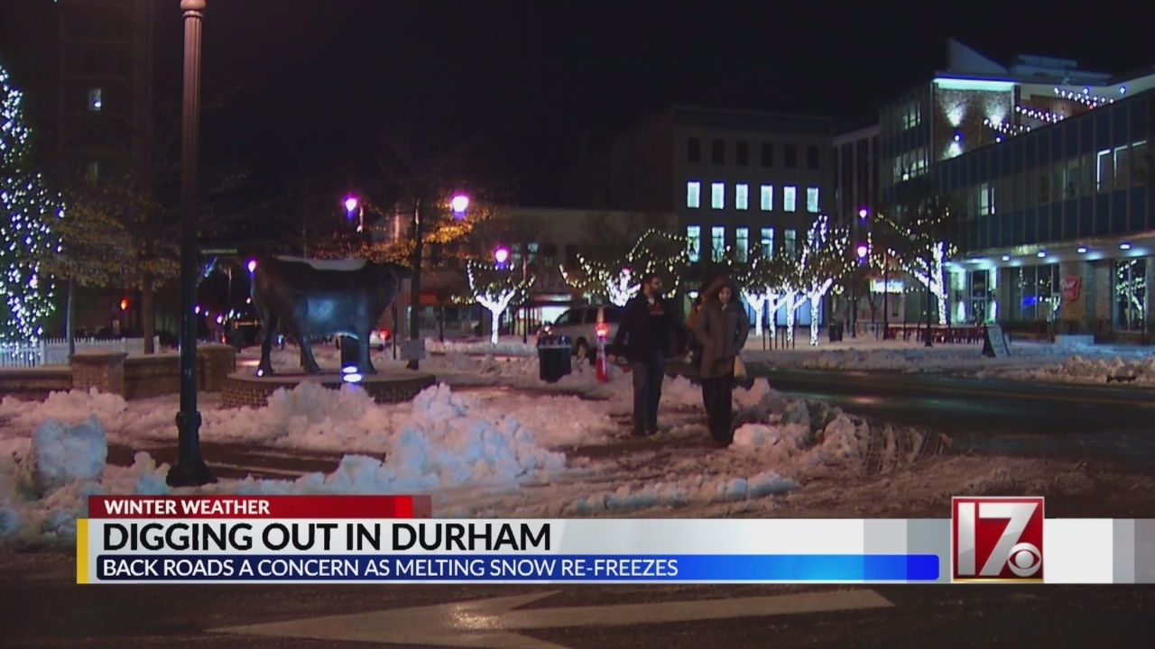 Possible Ice In Durham Early Tuesday A Worry For Drivers
