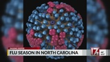 The flu reaches widespread status in NC, CDC says