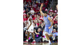 Tar Heels hold on to beat NC State, 90-82, in Raleigh