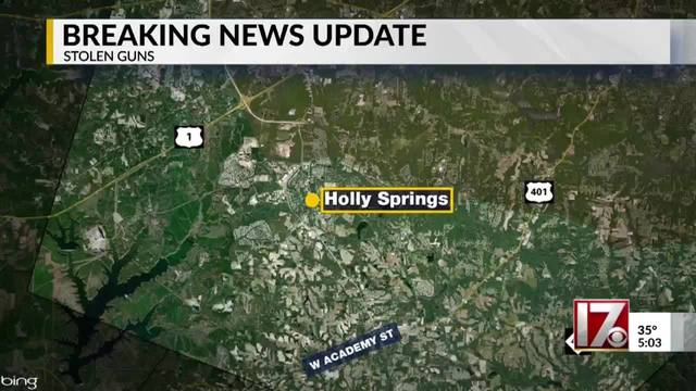 Crime spree led up to Raleigh police officer's shooting on
