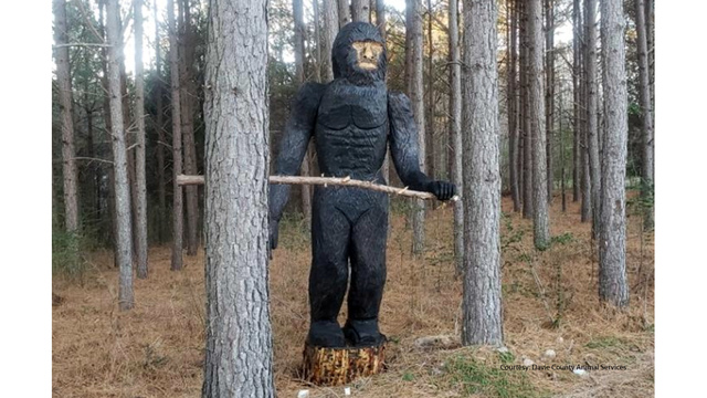 NC county sets record straight after many calls about a red-eyed Bigfoot