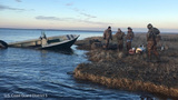 Coast Guard rescues stranded duck hunters, dog in Pamlico Sound