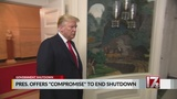 Trump offers immigration for border wall deal to end partial shutdown