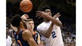 RJ Barrett scores 30 as top-ranked Duke edges No. 4 Virginia 72-70