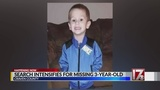 Massive search underway for missing 3-year-old NC boy