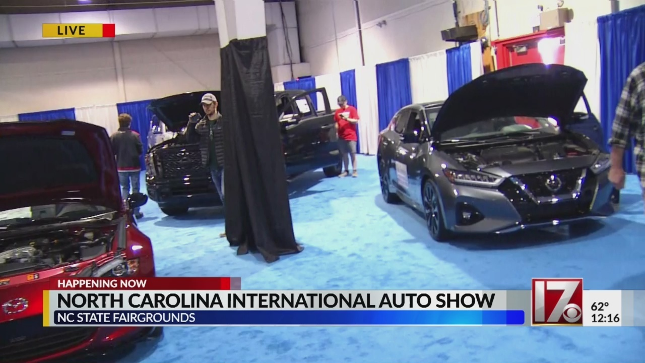International Auto Show this weekend at NC State Fairgrounds