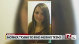 Mother of missing Rolesville teen: 'I haven't been able to sleep'