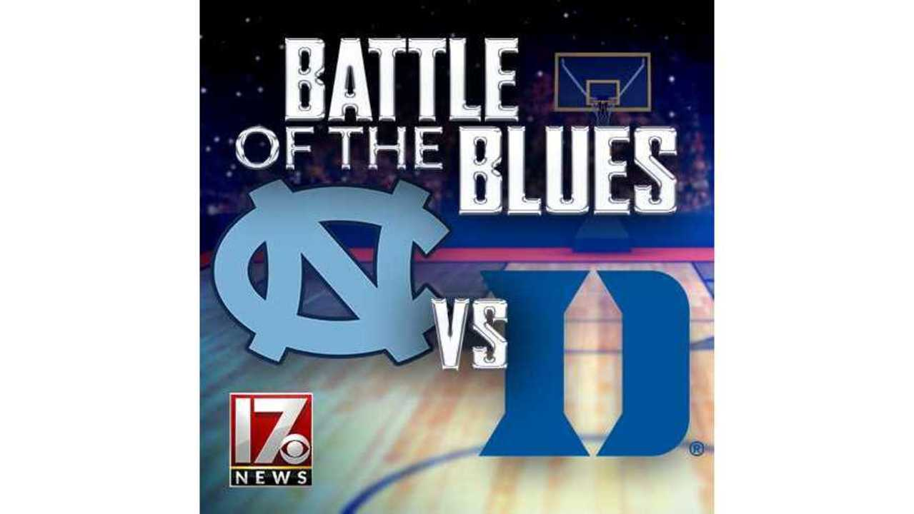 HALFTIME: No. 8 UNC leads top-ranked Duke, 42-32