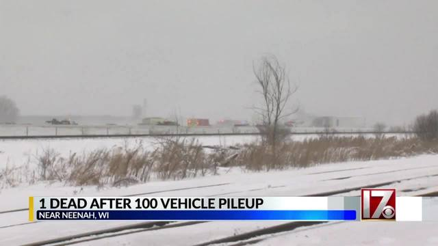 1 Dead After 100 Car Pile Up On Wisconsin I 41 Highway