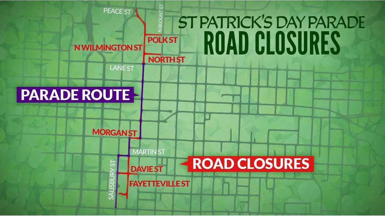 Raleigh St Patrick S Day Parade And Festival Street Closures Announced