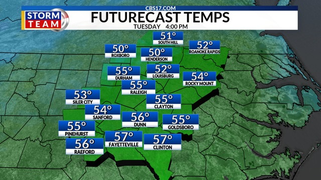 March 18: Quiet And Cool Weather Pattern