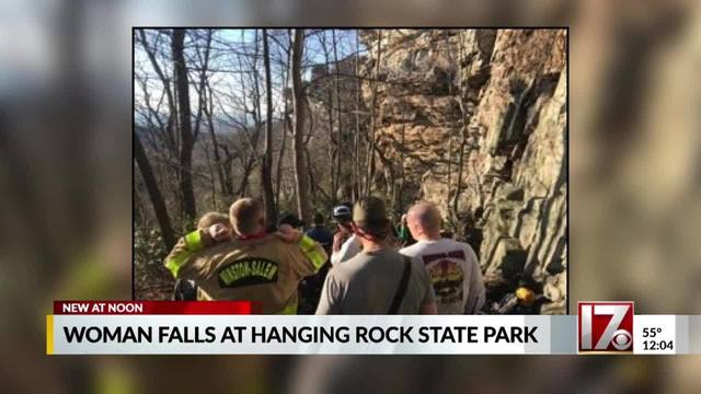 Cary woman injured in fall while climbing at NC state park