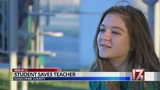 Edgecombe County middle schooler saves teacher from choking