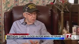 Museum requests people send birthday cards to Fayetteville WWII vet turning 100
