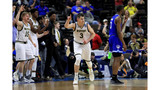 Wofford beats Seton Hall 84-68 for first tourney win