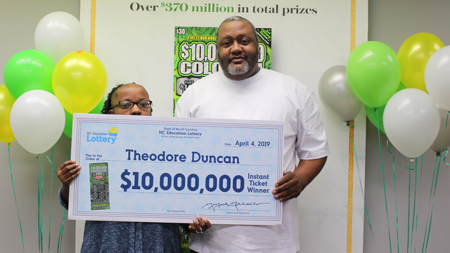 Granville County man wins $10 million from scratch-off ticket
