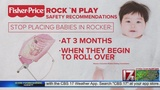 Warning issued after 10 babies die using Fisher-Price Rock 'n Play