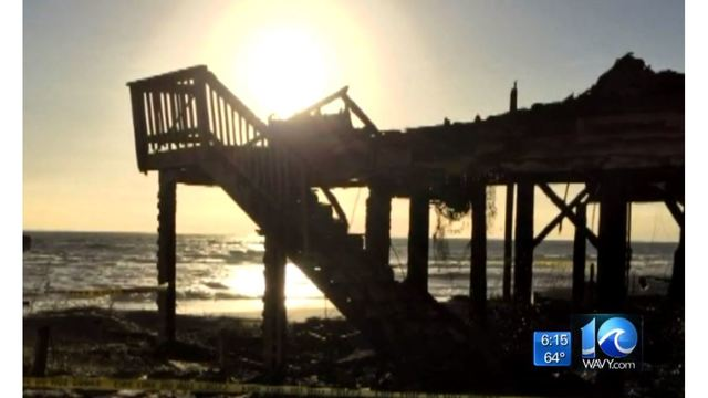 Couple sues over rebuilding denial after NC beach home burns