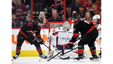 'Canes score 3 in 3rd to beat Caps, 5-2, to force Game 7