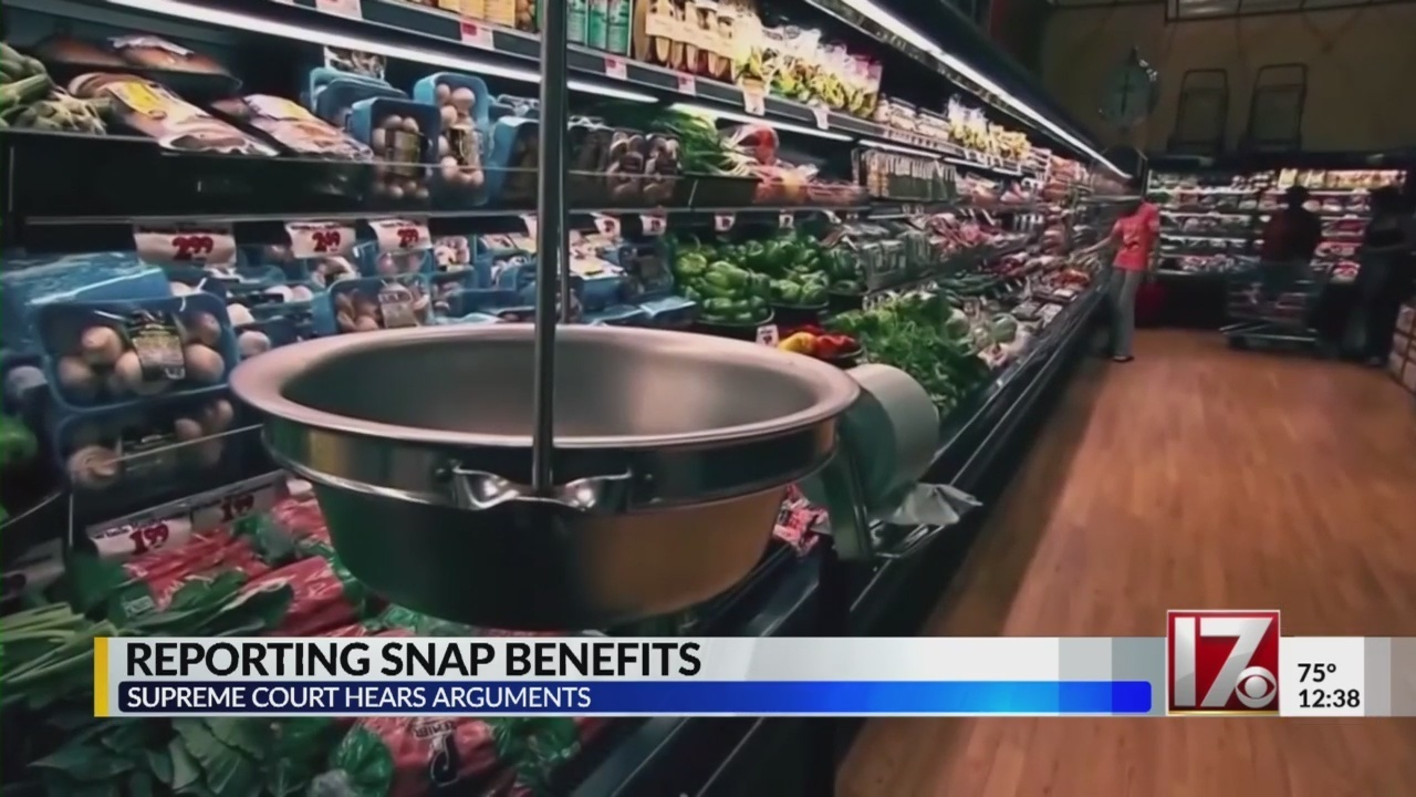 Us Supreme Court To Take Up The Reporting Of Snap Benefits