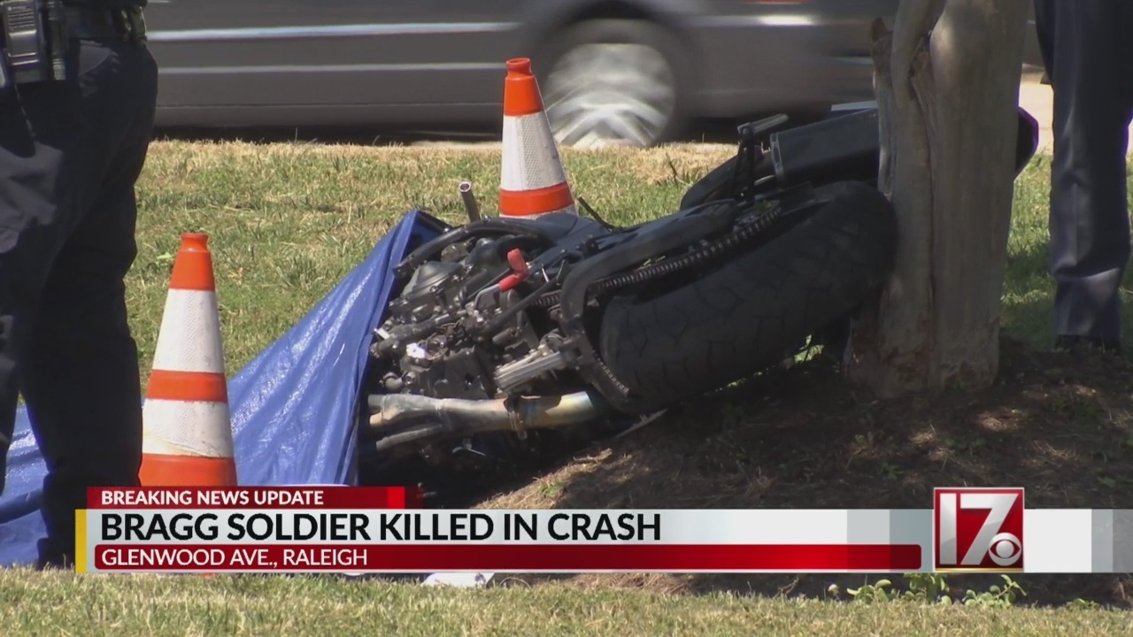 Police: Fort Bragg soldier killed in Raleigh motorcycle crash did